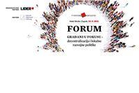 Forum Građani u fokusu – decentralizacija i lokalne razvojne politike