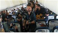 Vatra uživo u avionu Croatia Airlinesa na 10.000 metara!