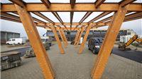 Radovi na izgradnji Panonskog drvnog centra kompetencija u Virovitici