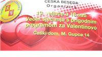 O ljubavi  A jak to zní český - Večras u Češkoj besedi