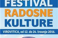 U Virovitici od 12. do 24. travnja Frka, Festival radosne kulture