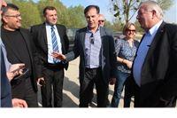 Ministar poljoprivrede Davor Romić obišao gradilište sustava navodnjavanja Kapinci - Vaška