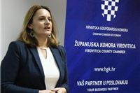 Promocija On line kataloga hrvatskih proizvoda  u HGK Županijskoj komori Virovitica