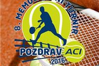 Osmi memorijalni teniski turnir Pozdrav Aci