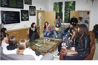 Terenska nastava studenata VŠMTI-a u Informativno edukativnom centru u Noskovačkoj Dubravi