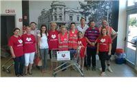 Gradsko društvo Crvenog križa prikupljalo sredstva za socijalnu samoposlugu
