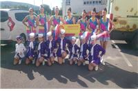 Virovitičke mažoretkinje na Europskom prvenstvu mažoretkinja u Slovačkoj