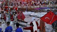 Vitezovi Ružice grada Orahovice u senjskom povijesnom spektaklu