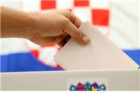Objava biračima za prijevremene izbore za zastupnike u Hrvatski sabor