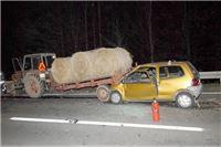 Traktor bez svjetala pogibelj je na cesti