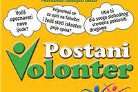 Postani volonter – uključi se u programe