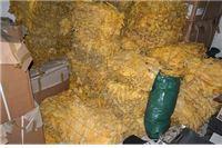 """Među aluminijske bačve """"sakrio"""" 10 crnih PVC vreća sa 195,6 kilograma nelegalnog duhana u listu"""