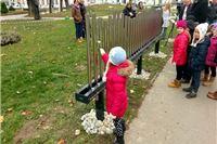 """Postavljen prvi eksponat """"Virovitičkog parka znanosti"""" – Glazbena ograda"""