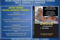 """Tribina """"Mladi, alkohol i promet"""" i predstavljanje knjige Dubravka Klarića """"Droge, ovisnosti i nasilje"""""""