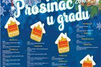 Objavljen program Prosinac u gradu 2016.