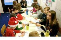 Djeca pravila čizmice za Svetog Nikolu
