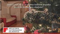 Vatrogasci upozoravaju: oprezno s odlaganjem pepela i  korištenjem božićnih dekoracija