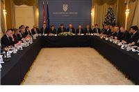 Predsjednik Vlade s čelnicima županija, gradova i općina: Prioritet Vlade i svih župana je ravnomjerni razvoj Hrvatske