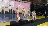 Uspješan nastup ritmičkih gimnastičarki KRG Pirueta na početku natjecateljske sezone