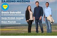 Denis Ostrošić kandidat za gradonačelnika, a Sanja Mrzljak Jovanić  i Bojan Plantak  kandidati za dogradonačelnice Slatine