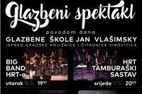 """Za rođendan Glazbene škole """"Jan Vlašimsky"""": Big Band HRT-a, Tamburaški orkestar HRT-a, HPD Rodoljub i Massimo Savić"""