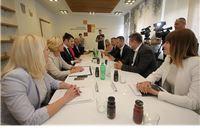 Virovitičko-podravsku županiju posjetio je ministar rada i mirovinskoga sustava Tomislav Ćorić