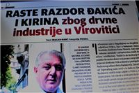 Slučaj TVIN u Nacionalu: Raste razdor Đakića i Kirina zbog drvne industrije