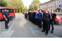 Vatrogasci Virovitičko-podravske županije otputovali u Dalmaciju pomoći u gašenju požara