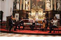 Večeras je u crkvi sv. Roka svoj koncert održala Petra Labazan i varaždinski gudački kvartet