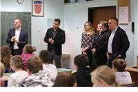 Župan Andrović posjetio OŠ Josipa Kozarca Slatina: Edukacija je najveće i najznačajnije ulaganje u budućnost naše djece