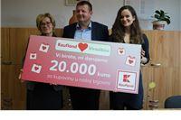 Kaufland donirao Centru za odgoj, obrazovanje i rehabilitaciju  20.000 kuna
