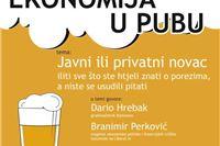 Dođite na tribinu Javni ili privatni novac u Corner pub i doznajte sve o porezima