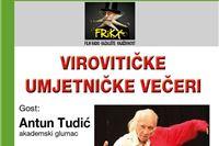 Virovitičke umjetničke večeri: Večeras u Cugu glumac Antun Tudić govori stihove iz svjetske ljubavne poezije