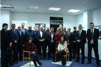 """Predstavnici gospodarskih komora i poduzetničkih centara posjetili izložbu """"Bernardo Bernardi i Tvin"""""""