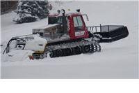Ratrak, snježni tenk, u akciji