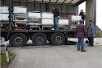 Stigla vrijedna humanitarna pošiljka Njemačko-hrvatske zajednice iz Karlsruhea. Pet kreveta već je rezervirano potrebitim osobama