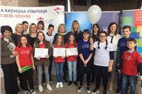 Među najboljim radovima na nagradnom natječaju za dječje literarne i likovne radove na temu  Kakvu Hrvatsku među najboljima 12 osnovnoškolaca iz Virovitičko-podravske županije