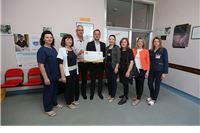 Donacija Lions cluba Vereuche: Odjelu za ginekologiju i porodništvu nove dekice, krevetići, posteljina...