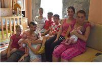 Obitelj Filipović nakon trojki dobila blizance