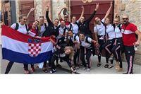 Odbojkašicama zlatna medalja na Mediteranskim igrama. U stožeru reprezentacije bio je i virovitičanin Dejan Gvoić