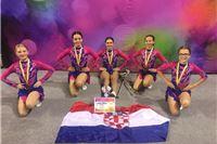 Virovitičke mažoretkinje europske prvakinje