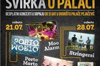 Glazbene večeri pod zvijezdama: U subotu 21. srpnja Porto Morto, ZMaJ i Moo Alarm