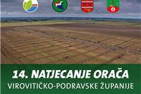 14. natjecanje orača Virovitičko-podravske županije i edukacija o osnovnoj obradi tla