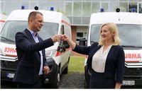 Pet novih vozila sanitetu Zavoda za hitnu medicinu
