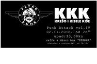 Večeras u Štednoj koncert bendova Krešo i kisele kiše iz Rijeke i Petar punk iz Bjelovara