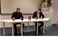 Potpisan je ugovor o izgradnji Geo info centra u Voćinu i adaptaciji dvorana u...
