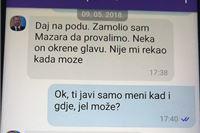 Telegram objavio novu poruku kojom pomoćnik ministra Nenad Križić nagovara bra...