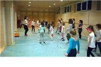 U tijeku upis djevojčica u program glazbeno-ritmičke sportske vježbaonice