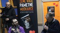 S Erom na promociji knjige u Vukovaru: Konačno smo dobili i literarnu potvrdu,  a književnost  uvijek zna što radi, da žene vole pametne muškarce