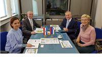 Opunomoćeni ministar u Veleposlanstvu Slovenije u Hrvatskoj Bernard Šrajner u Virovitičko-podravskoj županiji